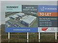 SO8854 : Advertising hoarding, Worcester by Chris Allen