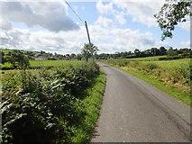 H8920 : View West-southwest along Lisleitrim Road by Eric Jones