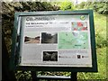 NZ2251 : Notice Board about reclamation site by Robert Graham