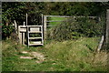 TQ3017 : Stile on the Path by Peter Trimming
