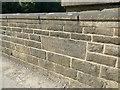 SE1952 : Swinsty - spillway bridge datestone by Stephen Craven