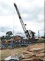 SO8040 : Welland Steam & Country Rally - steam crane by Chris Allen