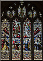 ST5972 : Stained glass window, St Mary Redcliffe church, Bristol by Julian P Guffogg