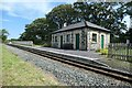 SH5059 : The station building, Tryfan Junction by Christine Johnstone