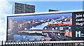 J3475 : River Lagan poster, Belfast (September 2019) by Albert Bridge