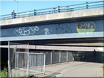NS5566 : Glasgow bridges [7] by Michael Dibb