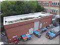 SO8754 : Worcestershire Royal Hospital - estates yard by Chris Allen