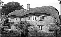 ST8080 : Hunters Lodge, The Street, Acton Turville, Gloucestershire 2011 by Ray Bird