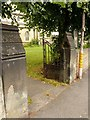 SK5361 : Churchyard gateway, Church of St John, Mansfield by Alan Murray-Rust