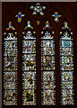 ST5972 : Medieval west window, St Mary Redcliffe church, Bristol by Julian P Guffogg
