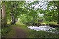 NT0233 : Path by the Culter Water by Jim Barton