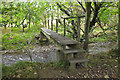 NT0233 : Footbridge over the Culter Water by Jim Barton