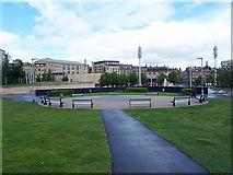 "SE1632 : ""Garden within a Garden"", City Park, Bradford by Stephen Craven"
