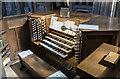 ST5972 : Organ console, St Mary Redcliffe church, Bristol by Julian P Guffogg