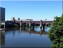 NS5964 : Glasgow bridges [12] by Michael Dibb