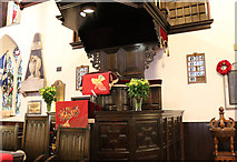 NS3321 : Pulpit, Ayr Auld Kirk by Billy McCrorie