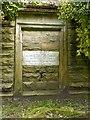 SK5459 : Mansfield Cemetery, Walker family mausoleum, detail by Alan Murray-Rust