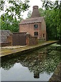 SJ6902 : Buildings and canal at Coalport by Philip Halling