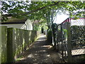 SK9324 : Footpath at Colsterworth by Marathon
