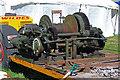 SJ4313 : Shrewsbury Steam Rally - steam/compressed air winch  by Chris Allen