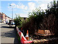 ST1067 : Waste ground on the southeast side of Broad Street, Barry by Jaggery