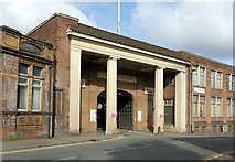 SP0388 : Soho Foundry entrance, W & T Avery Ltd by Alan Murray-Rust
