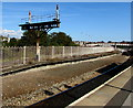 ST1166 : Disused platform at Barry Island station by Jaggery