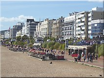 TV6198 : Lower Promenade and Grand Parade, Eastbourne by Oliver Dixon