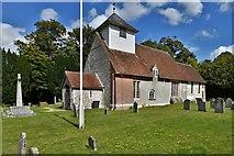 SU5846 : Dummer, All Saints Church: South western aspect by Michael Garlick