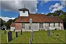 SU5846 : Dummer, All Saints Church: Southern aspect by Michael Garlick