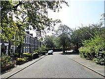 NZ2364 : View down Summerhill Street by Robert Graham