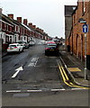 ST1067 : One-way Glamorgan Street, Barry by Jaggery