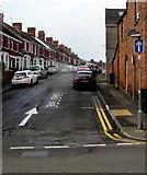 ST1067 : One-way Glamorgan Street, Barry by Jaggery
