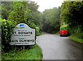 SS9468 : Welcome to St Donats - Please drive carefully by Jaggery