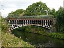 SP0288 : Engine Arm Aqueduct, Birmingham Canal by Alan Murray-Rust