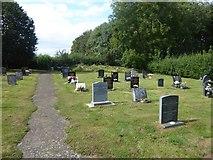 SK9224 : Old Post Lane Cemetery by Marathon