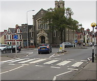 ST1067 : Zebra crossing at the southern of Park Crescent, Barry by Jaggery