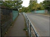 SP0189 : Roebuck Lane railway bridge by Alan Murray-Rust