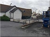 SX9473 : Closed Waitrose store, Teignmouth by Robin Stott