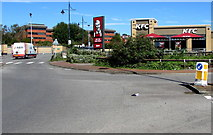 ST1167 : KFC, Waterfront Retail Park, Barry by Jaggery