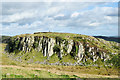 NY7567 : Western end of Peel Crags by Trevor Littlewood