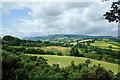 SO2664 : View from Offa's Dyke near Beggar's Bush by Jeff Buck