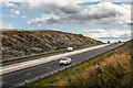 NO8796 : A90 - cutting east of Stranog Hill by Nigel Corby