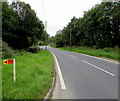 SO1073 : South along the A483, Llanbister by Jaggery