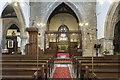 SE9608 : Interior, St Mary's church, Broughton by Julian P Guffogg