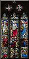 SE9608 : East Window, St Mary's church, Broughton by Julian P Guffogg