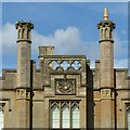 SK5453 : Newstead Abbey, South range detail by Alan Murray-Rust