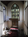 SE3132 : St Hilda, Cross Green - chancel and east window by Stephen Craven