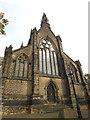 SE3132 : West end of St Saviour's church, Richmond Hill by Stephen Craven