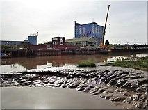TA1028 : Old Harbour, River Hull, Kingston upon Hull by Bernard Sharp